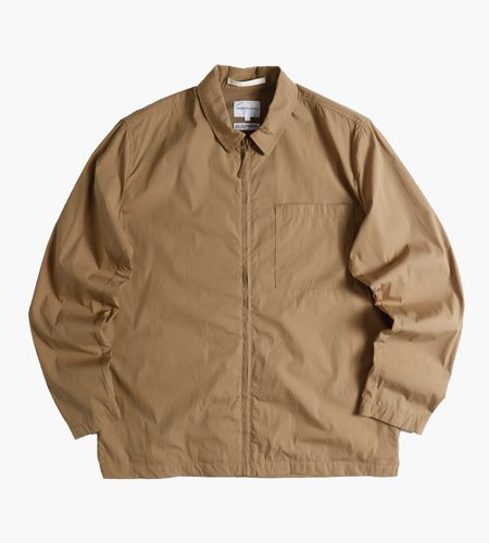 Norse Projects Norse Projects Jens Zip Packable Jacket Utility Khaki