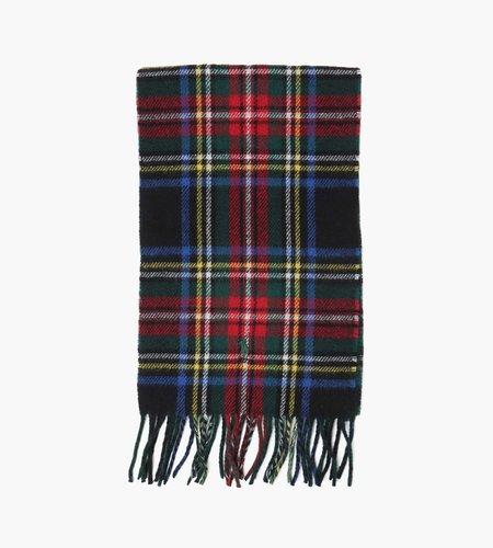 Polo Ralph Lauren Polo Ralph Lauren Scottish Oblong Wool Scarf Black Stewart