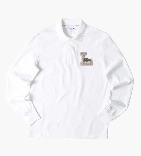 Lacoste Lacoste Men's LS Polo Farine