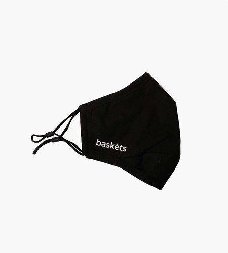 Baskèts Baskets Face Mask Black