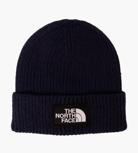 The North Face The North Face Logo Box Cuf Beanie Navy
