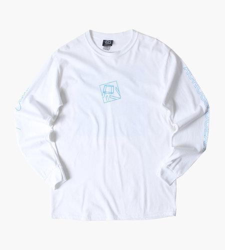 PIV PIV Chris Stussy Arcross Ocean Longsleeve Shirt White