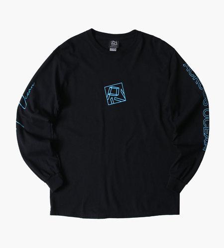 PIV PIV Chris Stussy Arcross Ocean Longsleeve Shirt Black