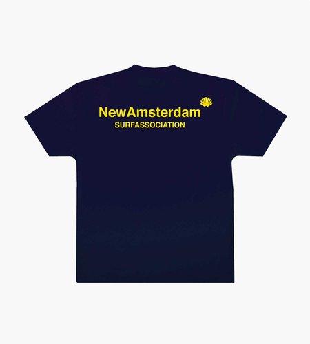 New Amsterdam New Amsterdam Logo Tee Black Iris