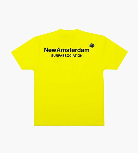 New Amsterdam New Amsterdam Logo Tee Cyber Yellow