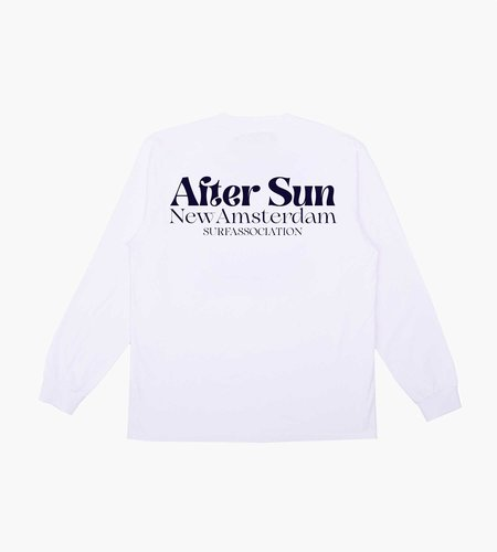 New Amsterdam Surf Association New Amsterdam After Sun Longsleeve White