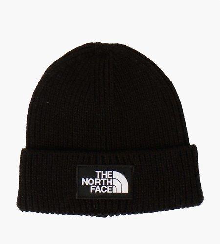 The North Face The North Face Logo Box Cuf Beanie Black