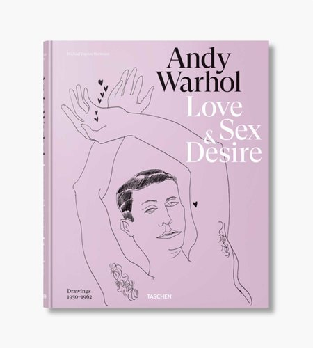 Taschen Taschen Andy Warhol Early Drawings of Love, Sex and Desire