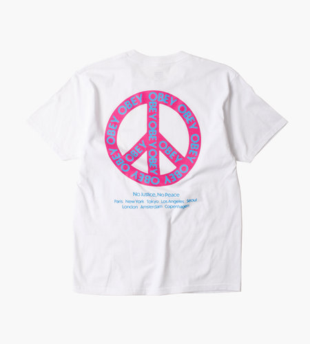 Obey Obey Peace White