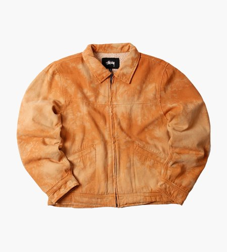 Stussy Stussy Shearling Dyed Trucker Jacket Brown