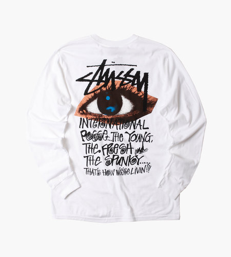 Stussy Stussy Ocular LS Tee White