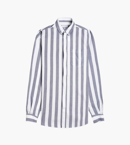 Norse Projects Norse Projects Anton Oxford Shirt Magnet Grey Stripe