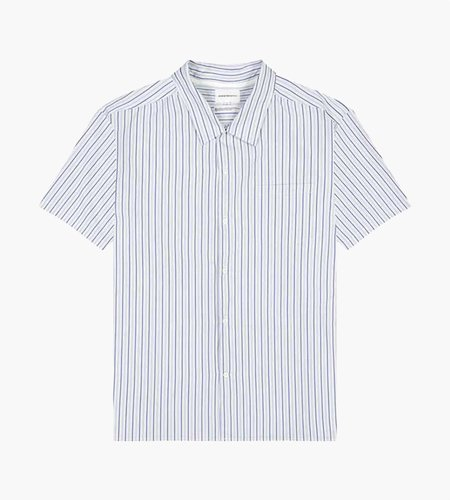 Norse Projects Norse Projects Carsten Poplin Shirt Blue Mix Stripe