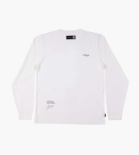 Ceizer Ceizer Van Gogh Study & Sketch Longsleeve T-Shirt White