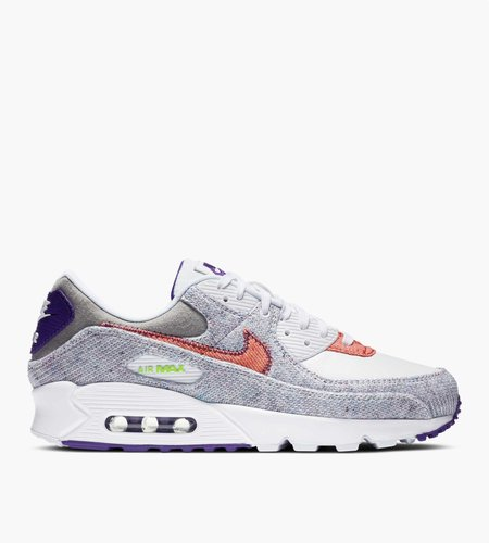 Nike Nike Air Max 90 White Electric Green Court Purple