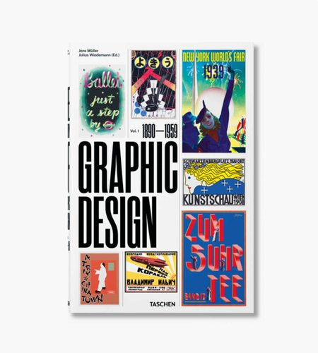 Taschen Taschen The History of Graphic Design. Vol. 1, 1890–1959