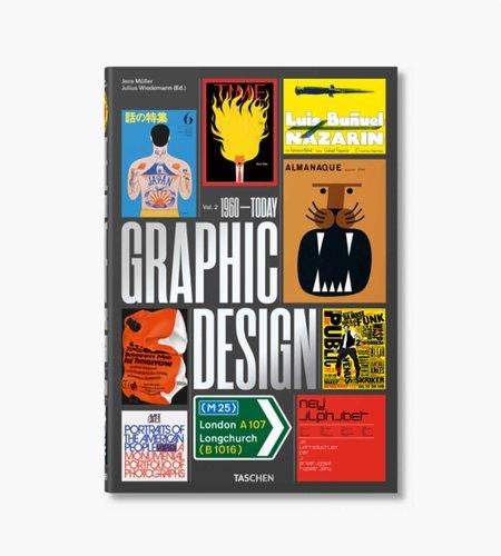 Taschen Taschen The History of Graphic Design. Vol. 2, 1960–Today
