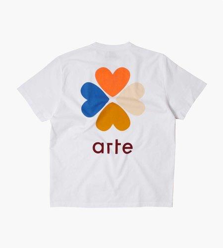Arte Antwerp Arte Antwerp Tomi Back Trevo T-Shirt White