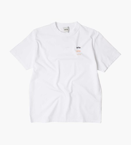 Arte Antwerp Arte Antwerp Tomi Multi Logo T-Shirt White