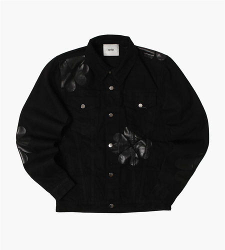 Arte Antwerp Arte Antwerp Josh Denim Trevo Jacket Black