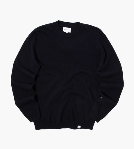 Norse Projects Norse Projects Sigfred Light Wool Knit Dark Navy