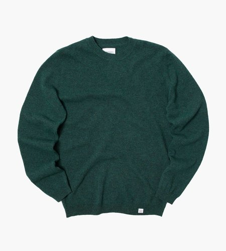 Norse Projects Norse Projects Sigfred Light Wool Knit Dartmouth Green