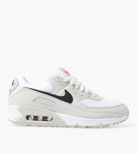 Nike Nike Air Max 90 White Black-Light Bone-Team Orange