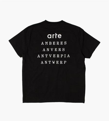 Arte Antwerp Arte Antwerp Tomi Antverpia T-Shirt Black