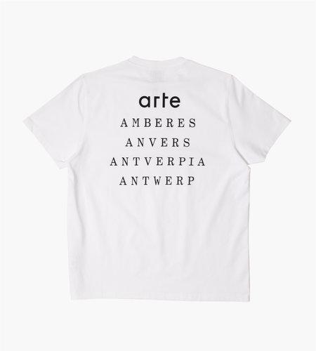 Arte Antwerp Arte Antwerp Tomi Antverpia T-Shirt White
