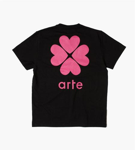 Arte Antwerp Arte Antwerp Tomi Back Trevo T-Shirt Black