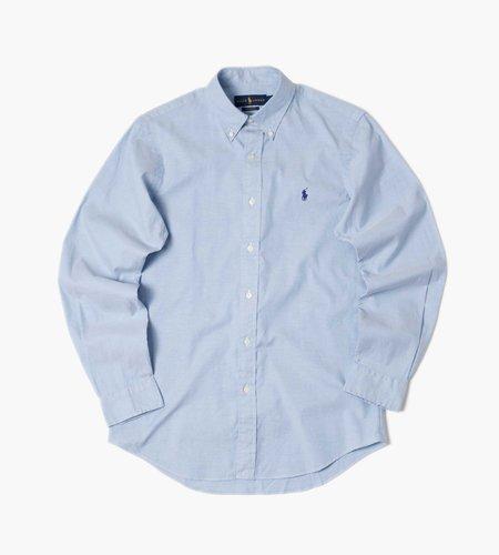 Polo Ralph Lauren Polo Ralph Lauren M Classics 1 Long Sleeve Sport Shirt 5026A Blue