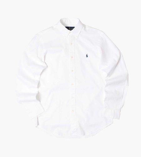 Polo Ralph Lauren Polo Ralph Lauren M Classics 1 Long Sleeve Sport Shirt 5026B White
