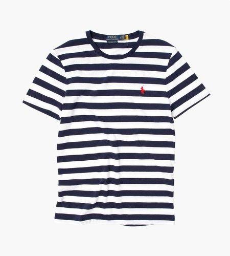 Polo Ralph Lauren Polo Ralph Lauren M Classics 1 Short Sleeve T-Shirt White French Navy