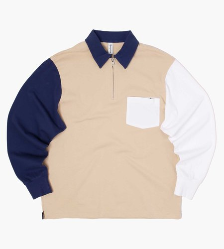 Reception Reception Half Zip Polo Multicolor