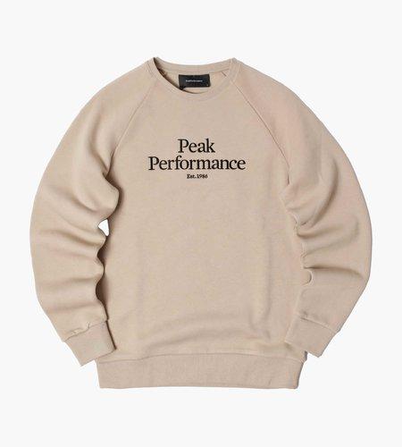 Peak Performance Peak Performance M Original Crew Celsian Beige