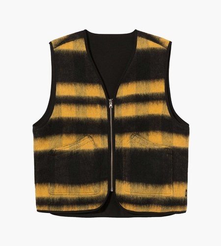 Stussy Stussy Block Reversible Vest Mustard