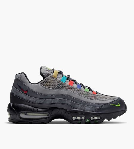 Nike Nike Air Max 95 SE Light Charcoal University Red-Black