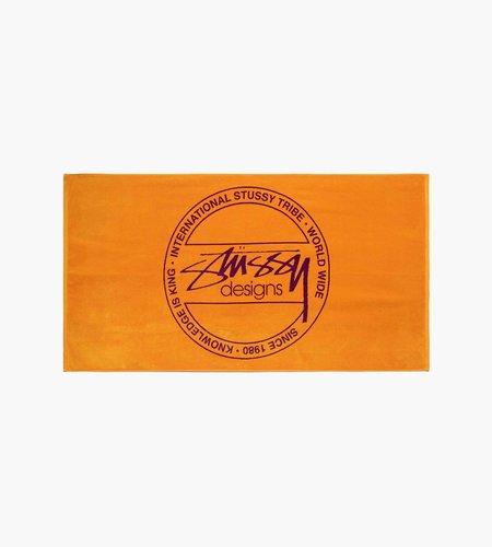 Stussy Stussy Dot Jacquard Towel Orange