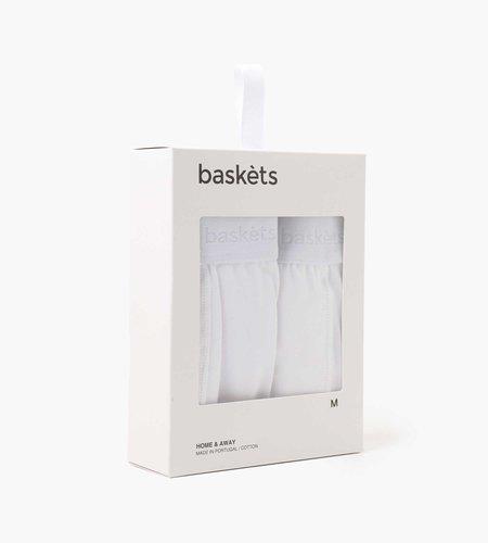 Baskèts Baskèts Boxershorts 2-pack White