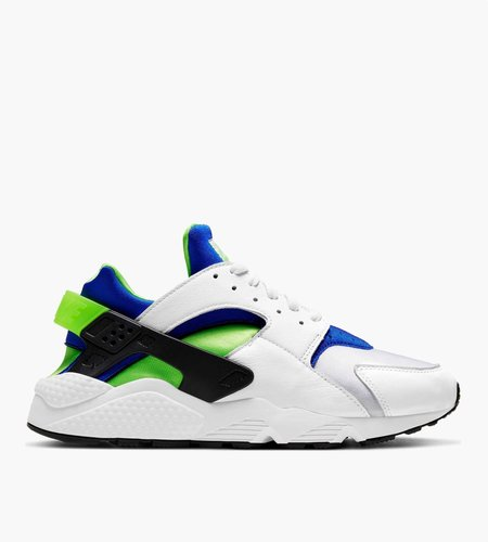 Nike Nike Air Huarache White Scream Green-Royal Blue-Black