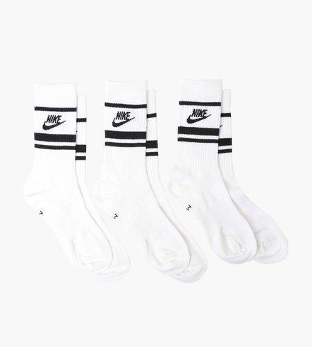 Nike Nike Everyday Essential Crew Socks White Black