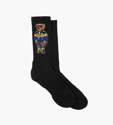 Polo Ralph Lauren Polo Ralph Lauren S21 MSW Socks PL Racer Br Crew Sock Single Black