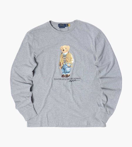 Polo Ralph Lauren Polo Ralph Lauren M Classics 2 Long Sleeve T-Shirt Andover Heather