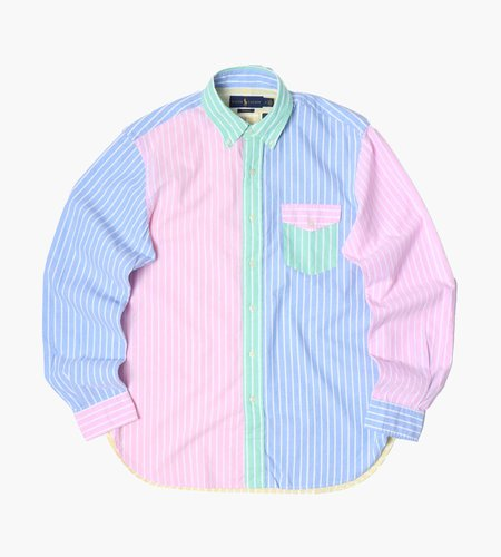 Polo Ralph Lauren Polo Ralph Lauren M Classics Long Sleeve Sport Shirt 5254 Stripe Fun Shirt