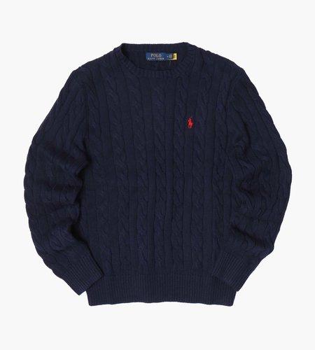 Polo Ralph Lauren Polo Ralph Lauren LS Driver CN Long Sleeve Sweater Hunter Navy