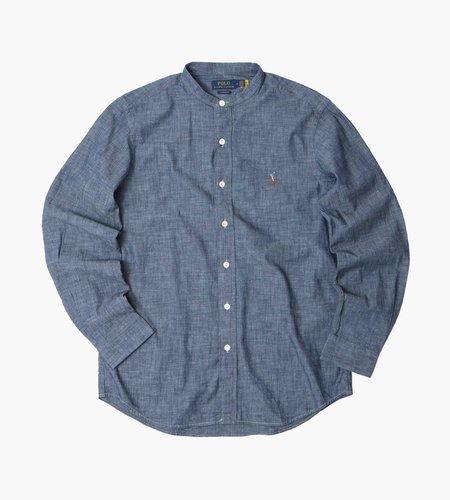 Polo Ralph Lauren Polo Ralph Lauren M Classics 2 Long Sleeve Sport Shirt Dark Indigo