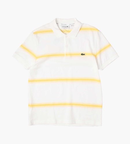 Lacoste Lacoste 1HP3 Men's S/S Polo 03 White Yellow