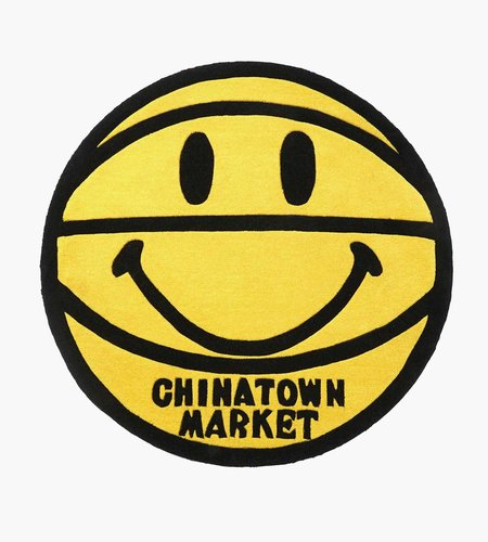 China Town Market China Town Market Smiley Basketball Rug 4 FT