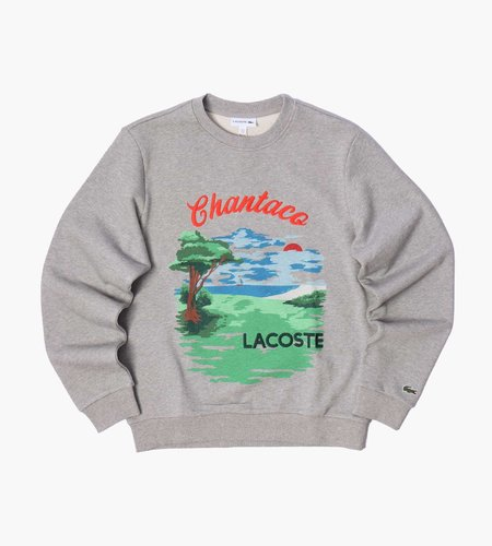 Lacoste Lacoste 1HS1 Sweatshirt 01 Heather Wall Cinnabar