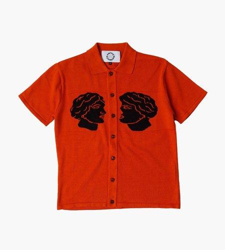Carne Bollente Carne Bollente Cum and Cummer Knitted Shirt Orange